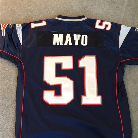 best authentic 7f264 0b7aa #51 Jerod Mayo Authentic Patriots Jersey